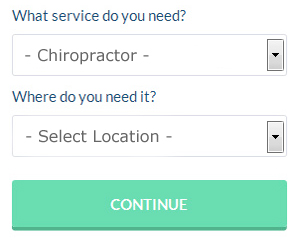 Contact a Chiropractor Chapeltown UK